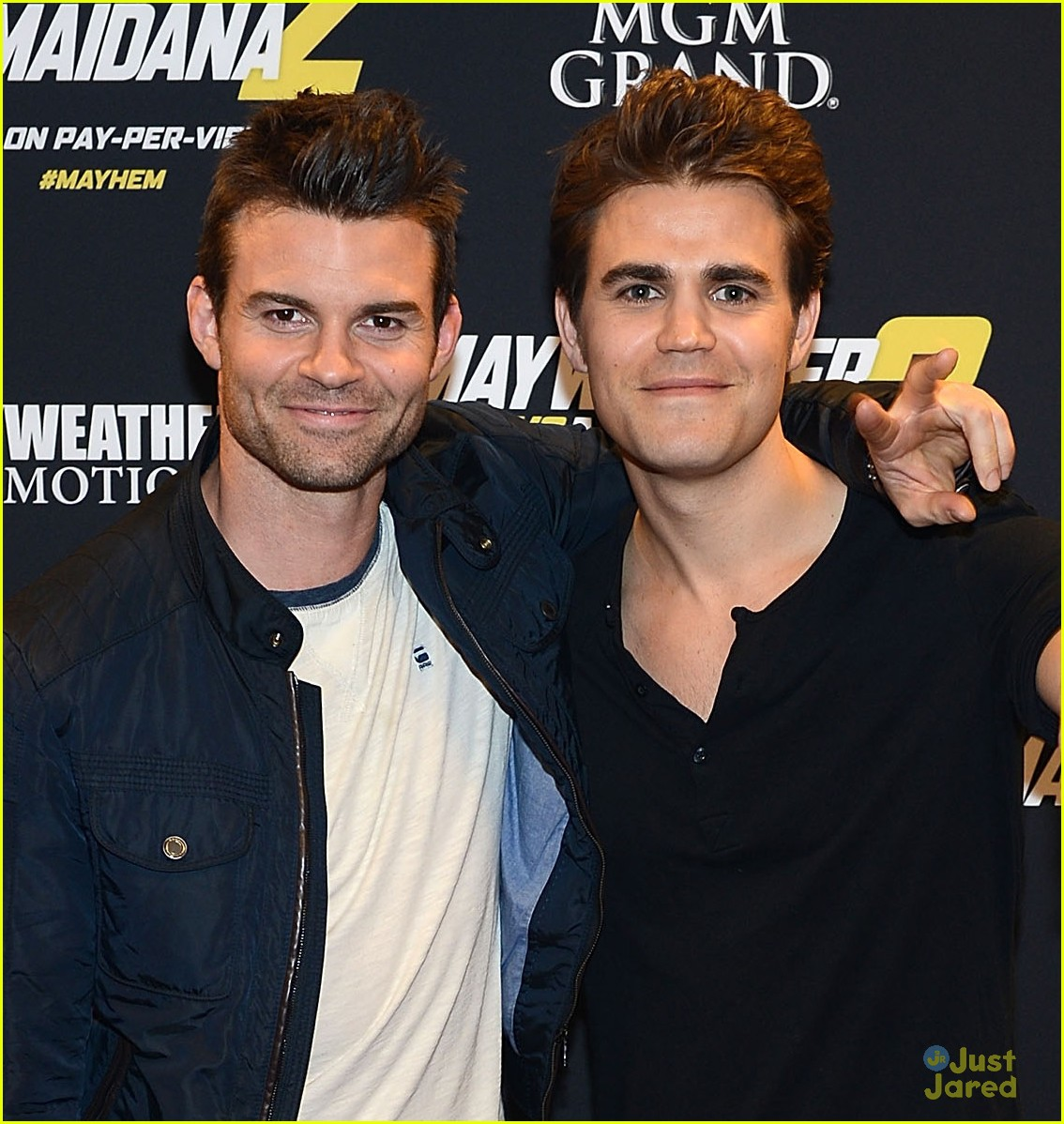 Paul Wesley & Daniel Gillies Keep the Bromance Alive at ...