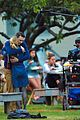 james franco emma roberts kiss park michael filming 43