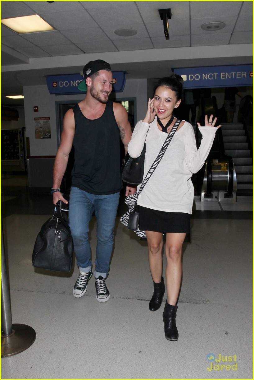 Janel Parrish And Val Chmerkovskiy