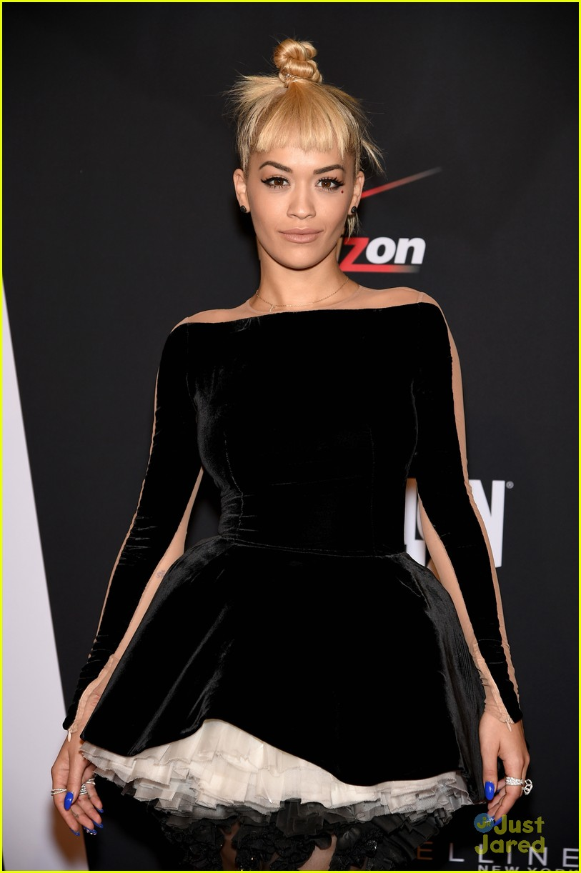Rita Ora Commands the Stage During Fashion Rocks 2014