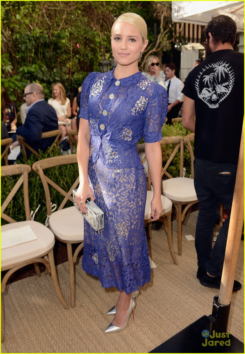 dianna agron camilla belle cfda fashion fund event 03