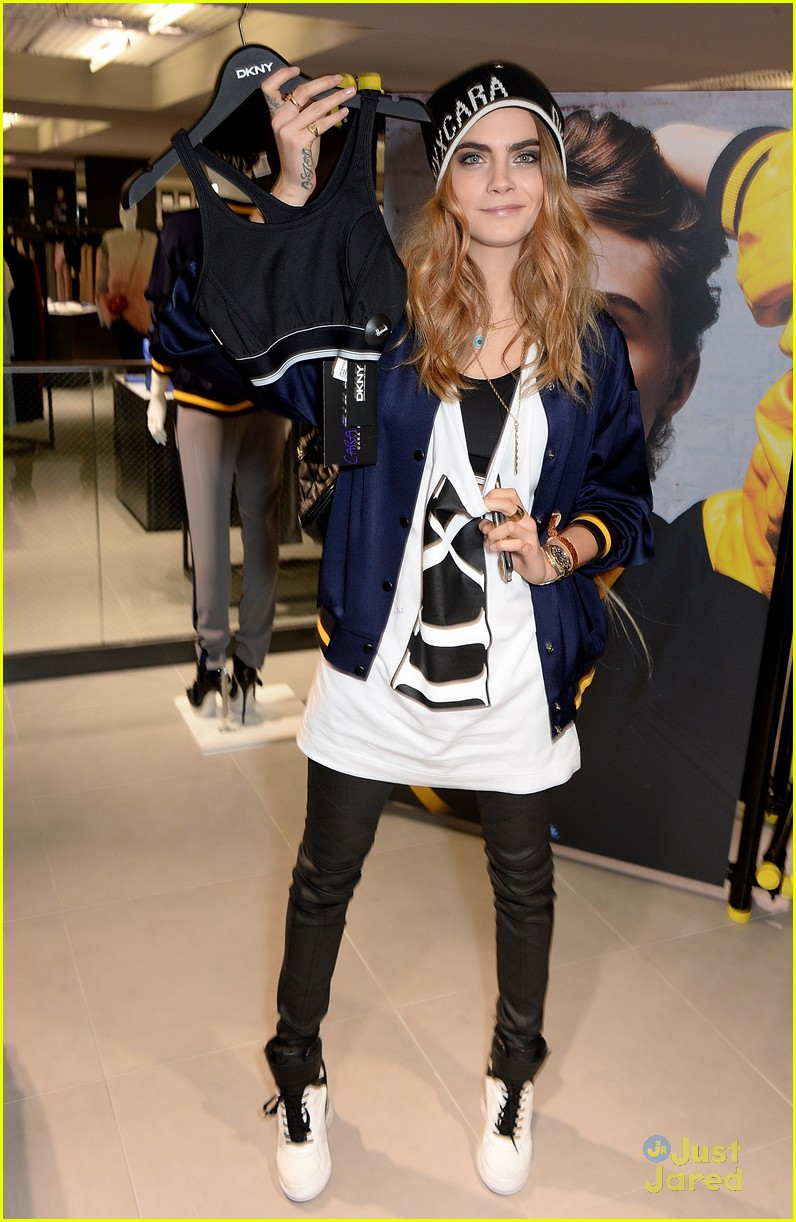 cara delevingne dkny appearance face angel bfi 23