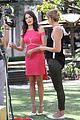 karla souza grove interview hot pink dress 13