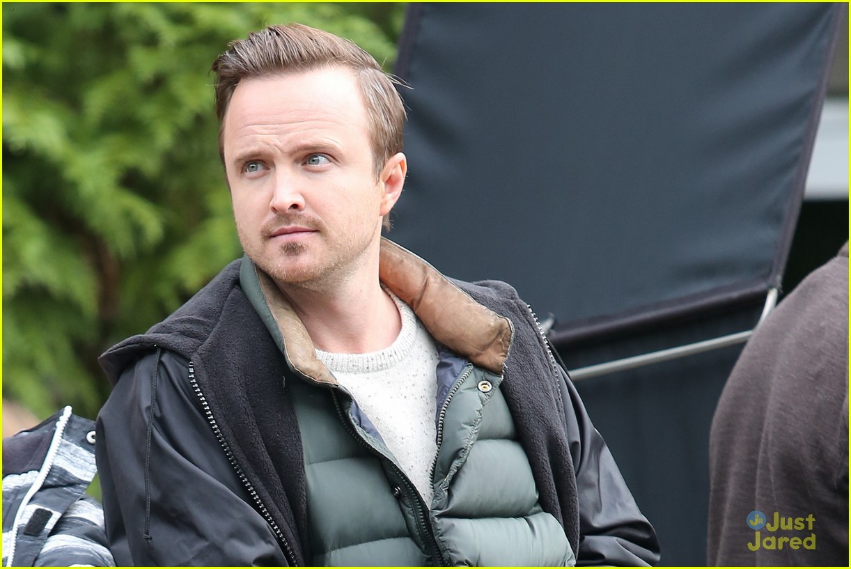 aaron paul sarah gadon ninth life of louis drax set 12