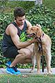 spencer boldman dog jack walk la 02