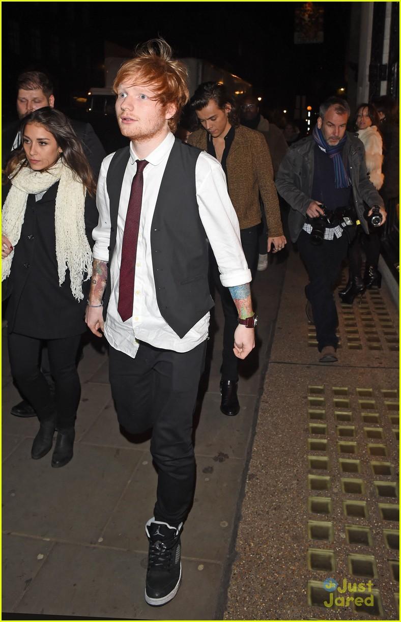 one direction amp ed sheeran meet prince william at royal