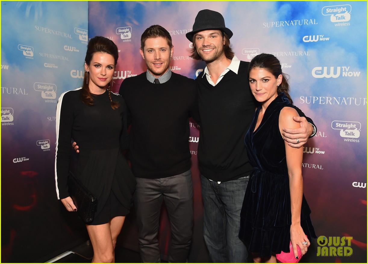 Jensen Ackles Jared Padalecki Celebrate Supernaturals 200th