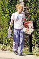 iggy azalea checks mail in comfy pjs 18