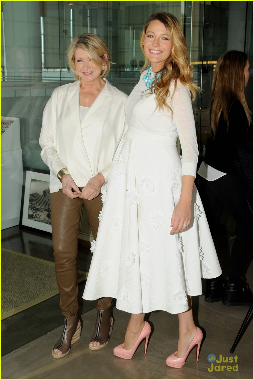 blake lively martha stewart pose together at american made summit 01