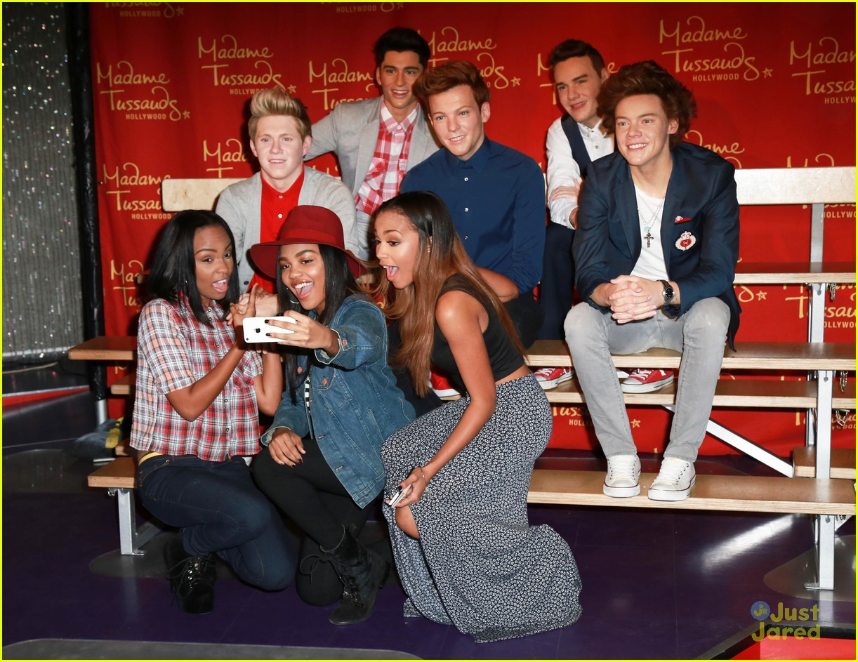 Mcclain meet one direction in hollywood their wax figures mcclain meet wax one direction figures 03 m4hsunfo