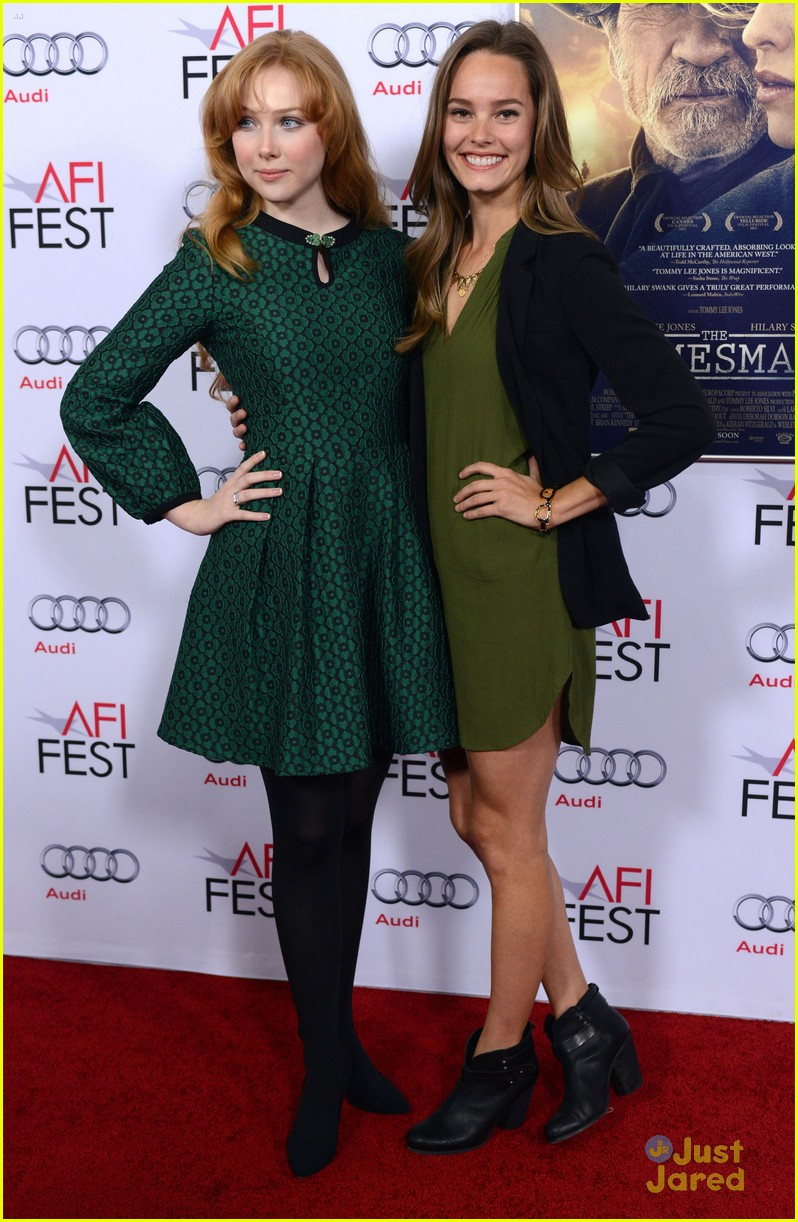 molly quinn bailey noble homesman afi screening 02