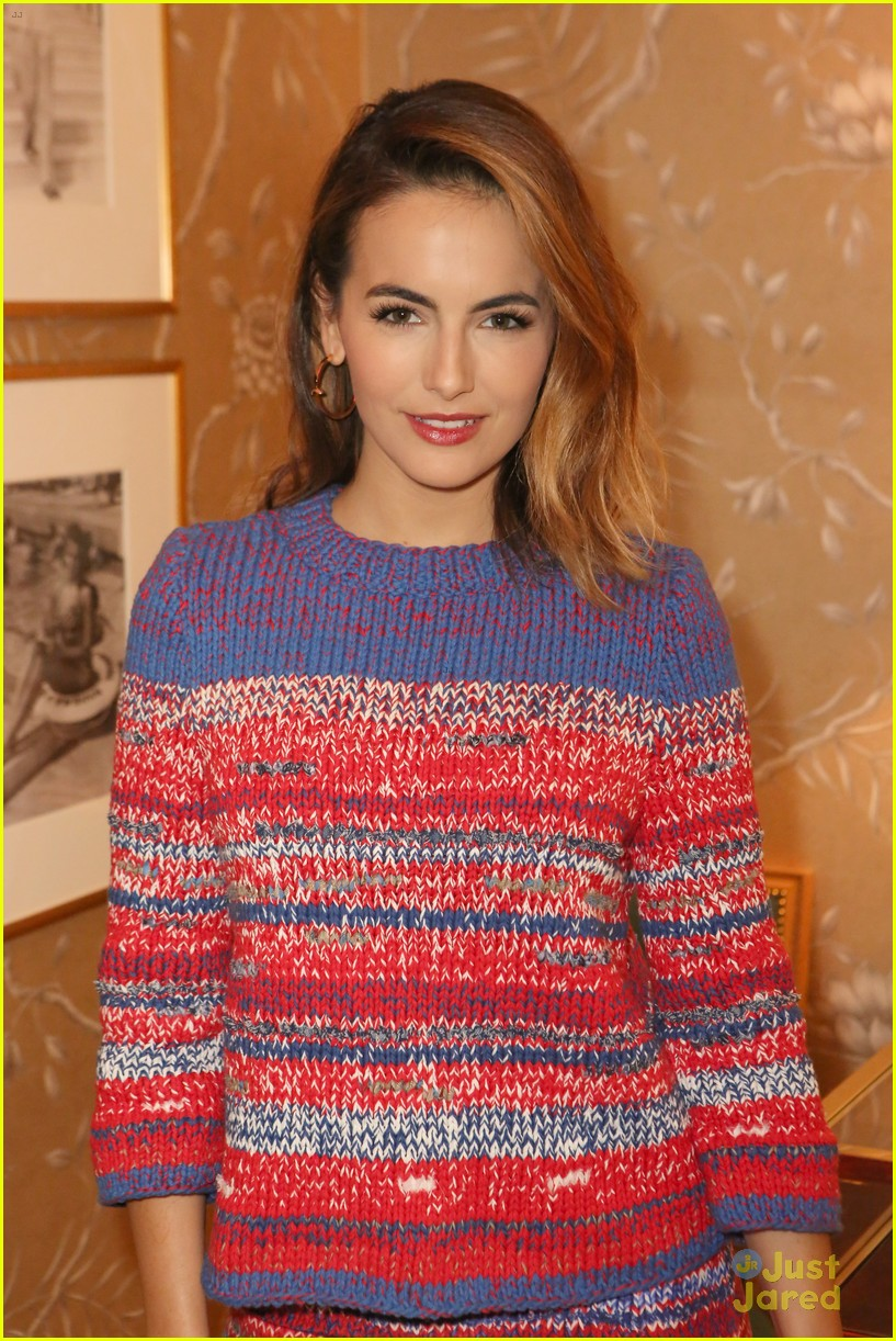 152f9d3dbc6 Nikki Reed   Camilla Belle Doll Up For Tory Burch Watch Collection  Celebration