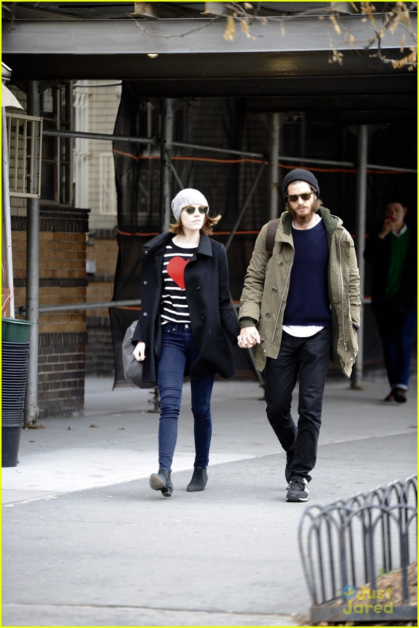emma stone andrew garfield get alone time 10