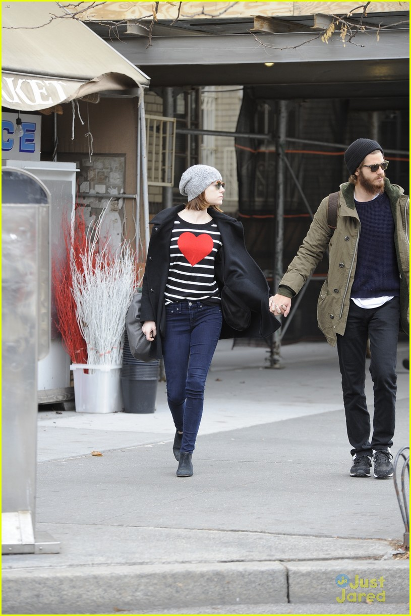 emma stone andrew garfield get alone time 13