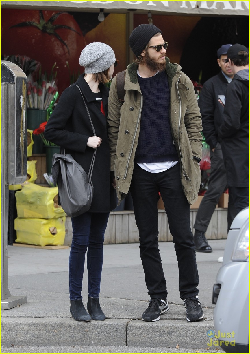 emma stone andrew garfield get alone time 21