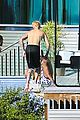 justin bieber goes shirtless at beverly hills mansion 18