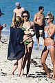 katie cassidy bikini miami arrow break 09