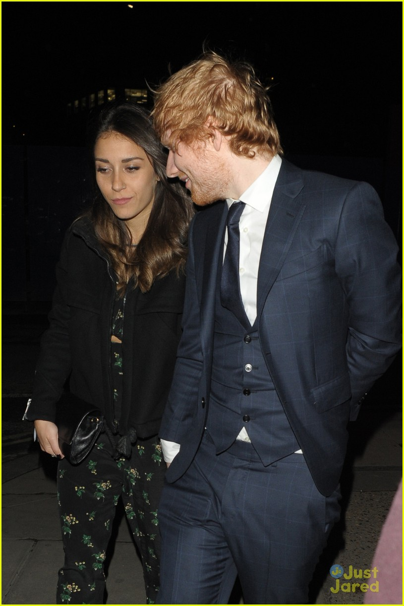 ed sheeran amp girlfriend athina andrelos hold hands after