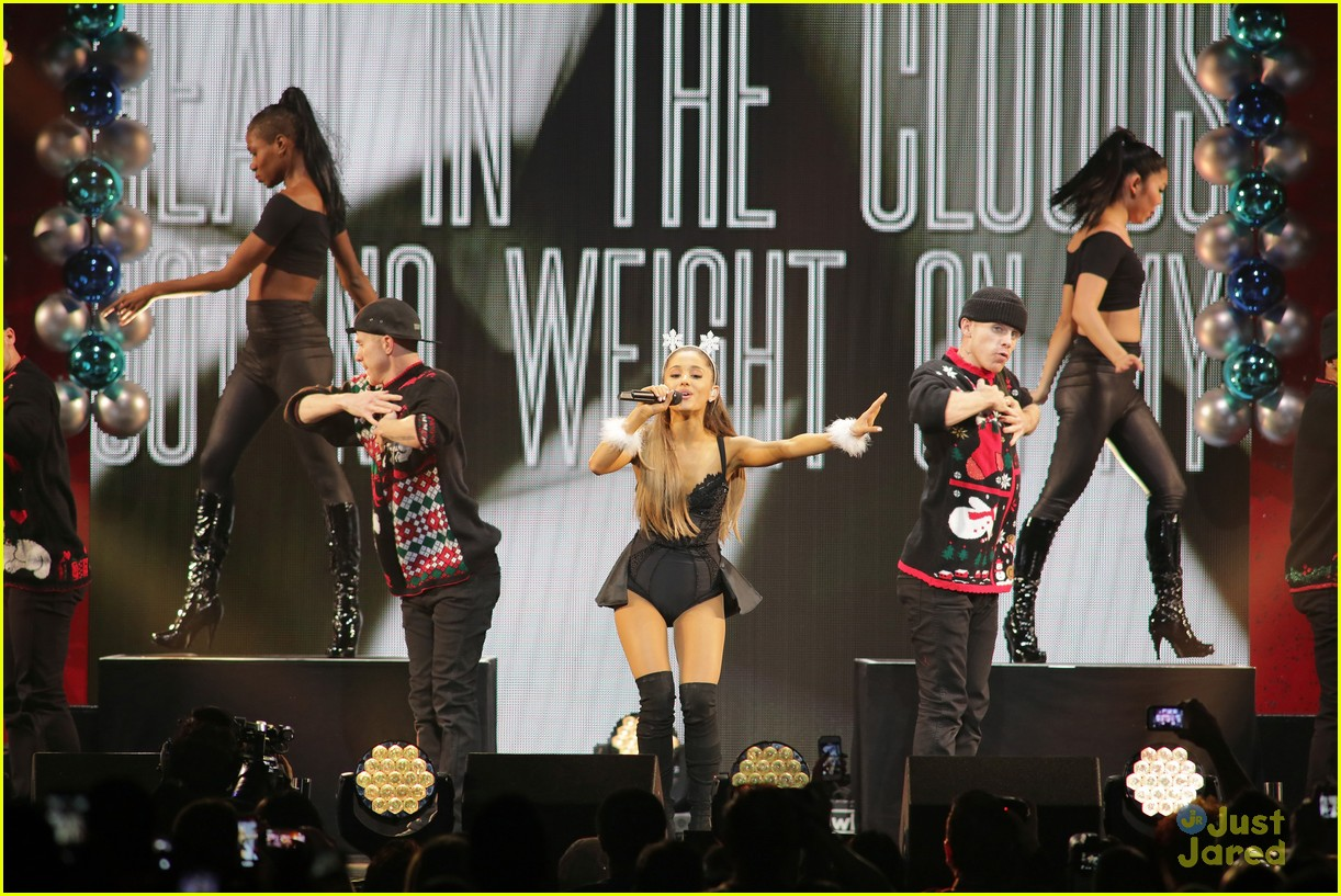 ariana grande jessie j y100 jingle ball 11