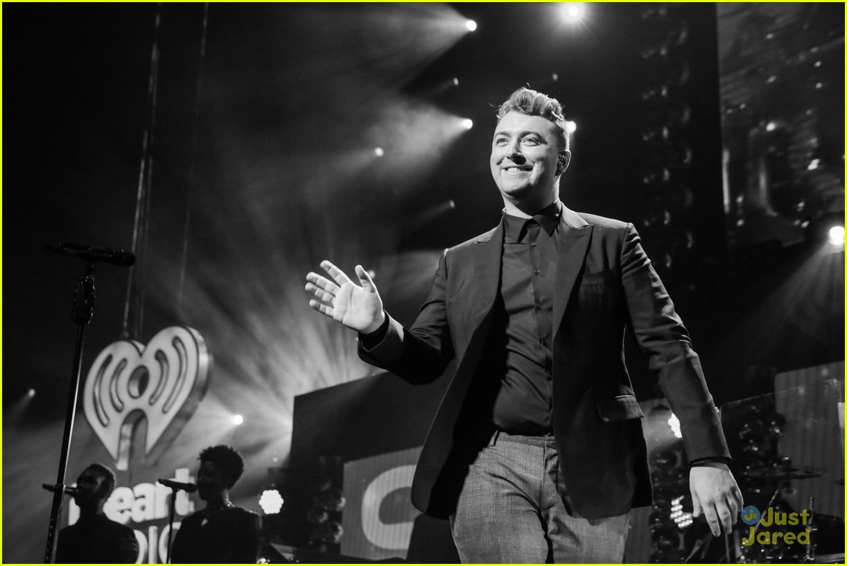 Sam Smith Merry Little Christmas Q102 Philly 05