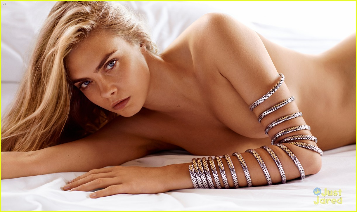 Cara Delevingne Is Topless Stunning in John Hardy Jewelry Campaign