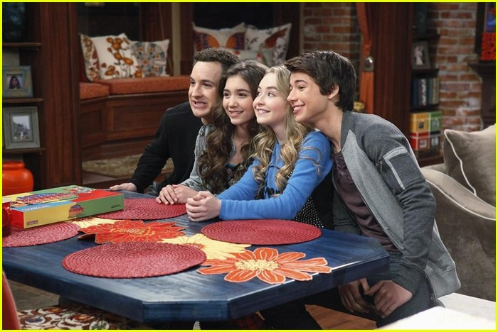 Game night does not turn out how cory matthews wanted it to on girl sabrina carpenter uriah shelton gmw game night stills 03 altavistaventures Image collections