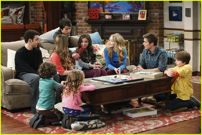 Game night does not turn out how cory matthews wanted it to on girl sabrina carpenter uriah shelton gmw game night stills 13 altavistaventures Image collections