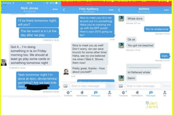 taylor swift direct messages twitter hack nick jonas 04