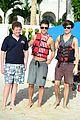 union j shirtless barbados beach 03