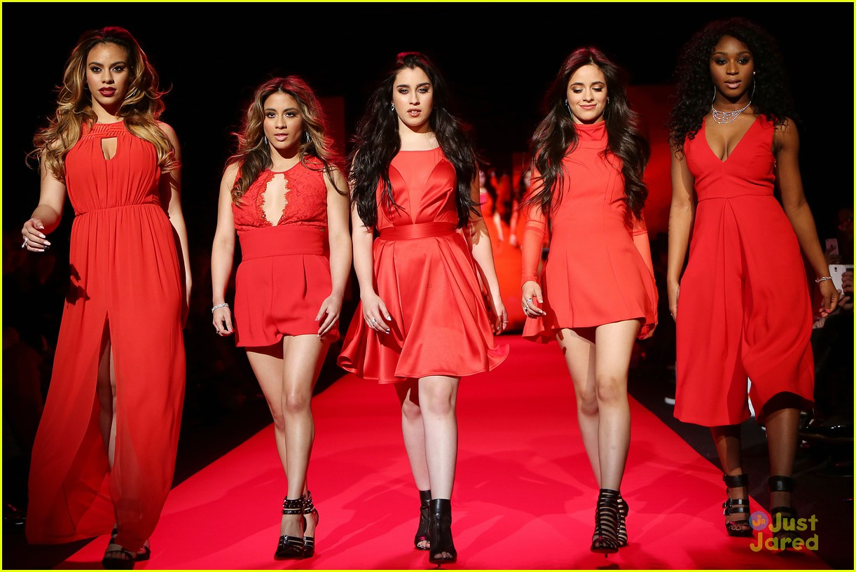 Fifth Harmony Go Red For New York Fashion Week - See Their Runway Pics! | Photo 774826 - Photo ...