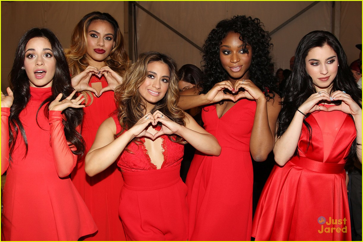 Fifth Harmony Go Red For New York Fashion Week - See Their Runway Pics! | Photo 774844 - Photo ...