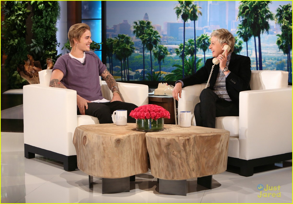 Justin Bieber Does Foreign Accent During Prank Call on 'Ellen