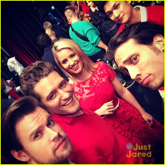glee cast says goodbye last week filming 05