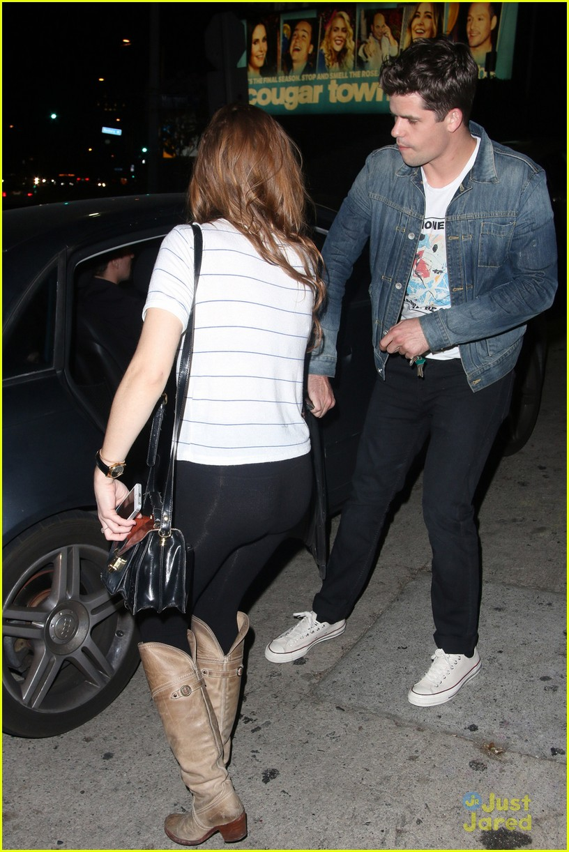 holland roden dinner out max charlie carver 03