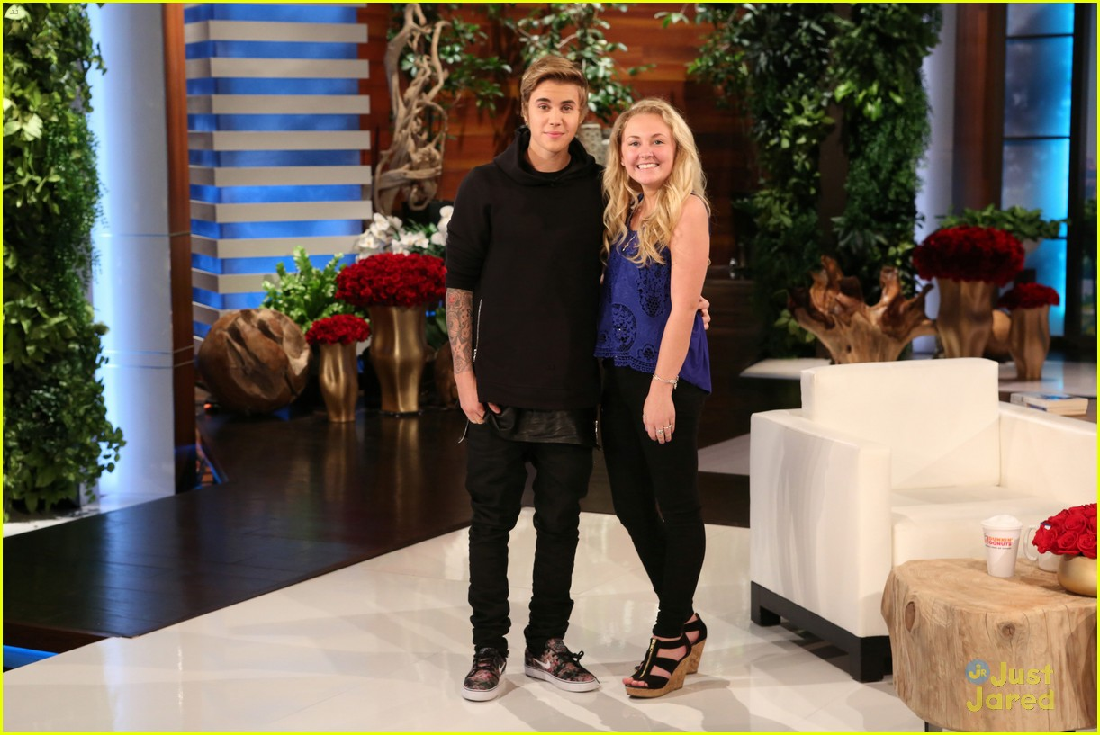 Justin Bieber's Ellen Scare Reaction: 'Oh My God!': Photo