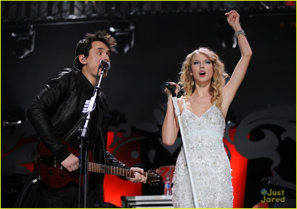 Taylor Swift Got Burned By John Mayer In His Late Show Monologue Photo 771774 John Mayer Taylor Swift Pictures Just Jared Jr