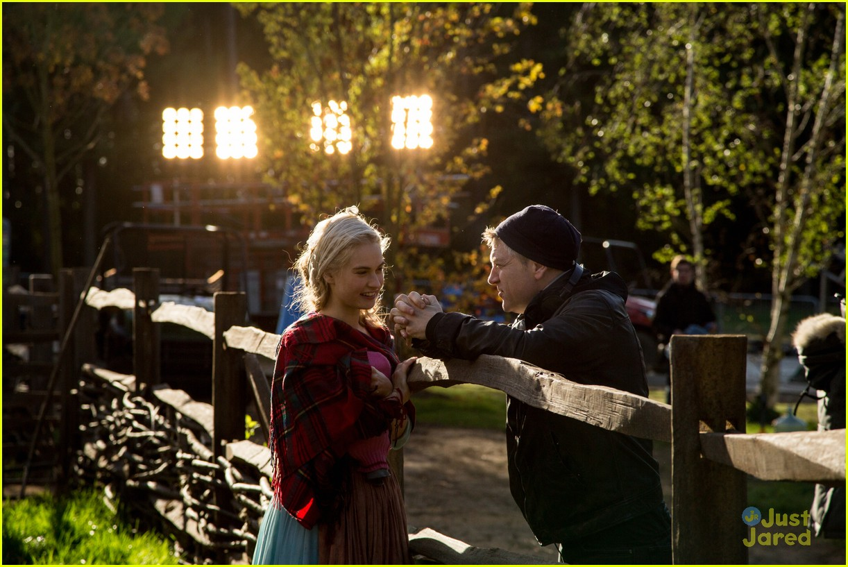 Cinderella' Comes With New Clips & Behind-The-Scenes Images - See