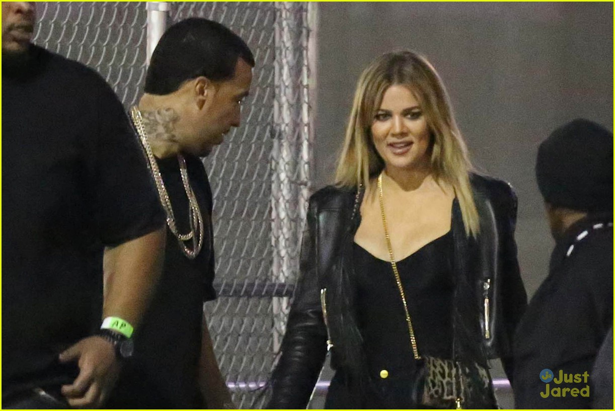 kylie jenner khloe kardashian double date at tygas concert 06