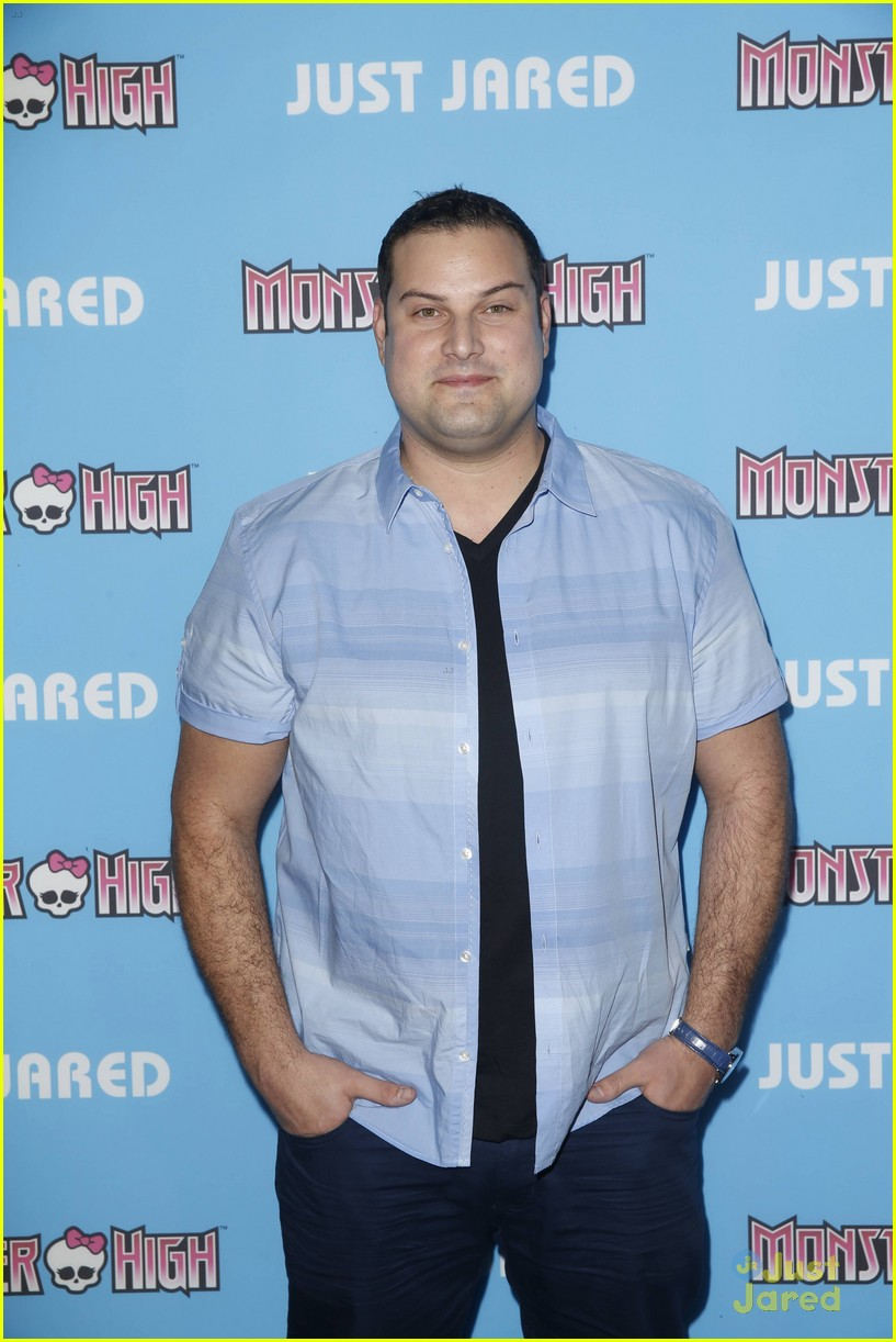 mark salling max adler glee throwback party 11