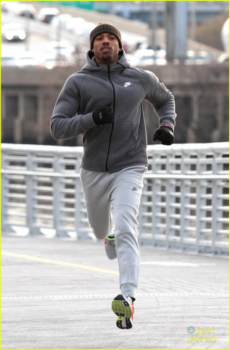 a75104fb42bb Michael B. Jordan s Face Looks Pretty Beat Up On  Creed