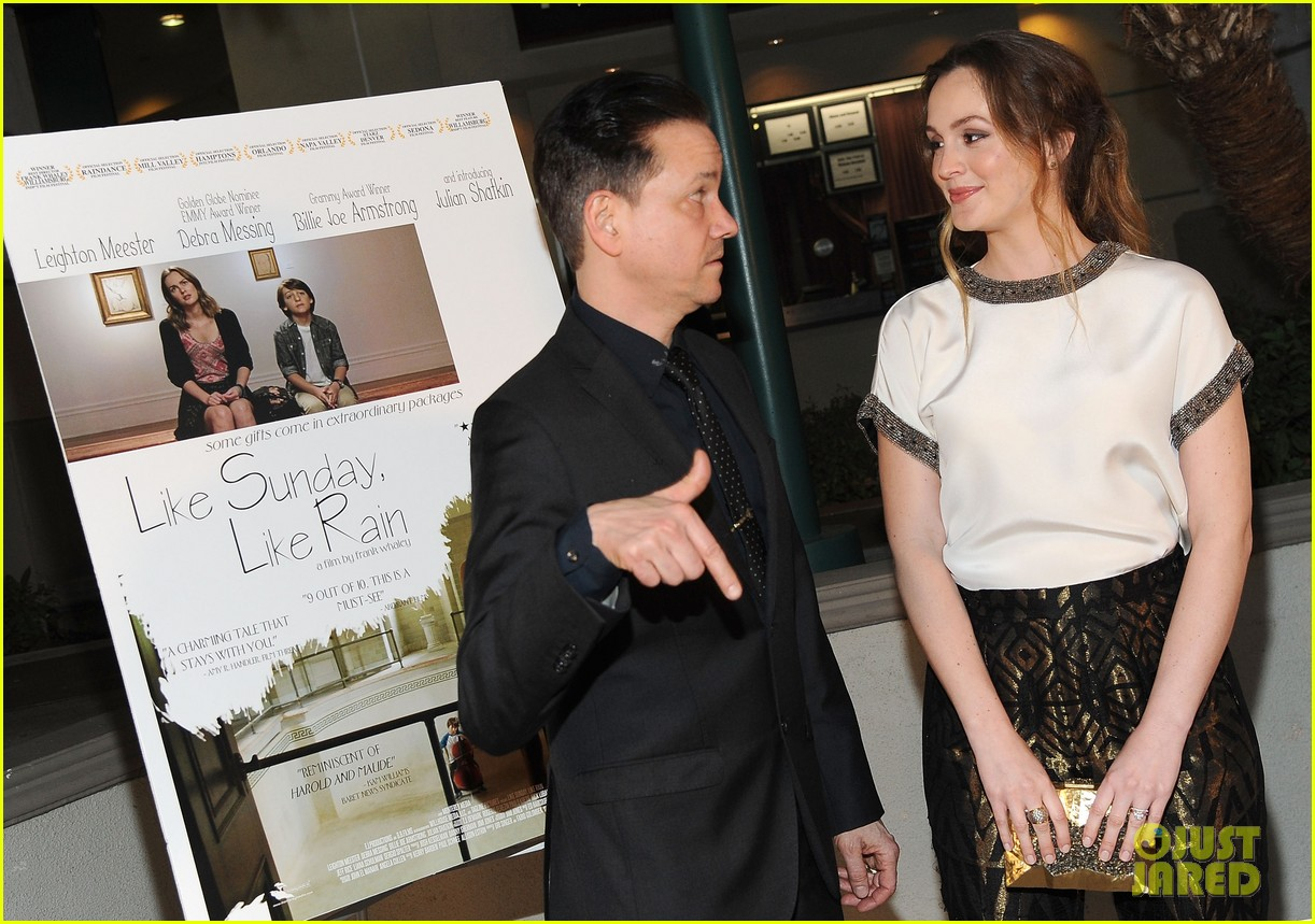 leighton meester sparkles at like sunday like rain california premiere 07