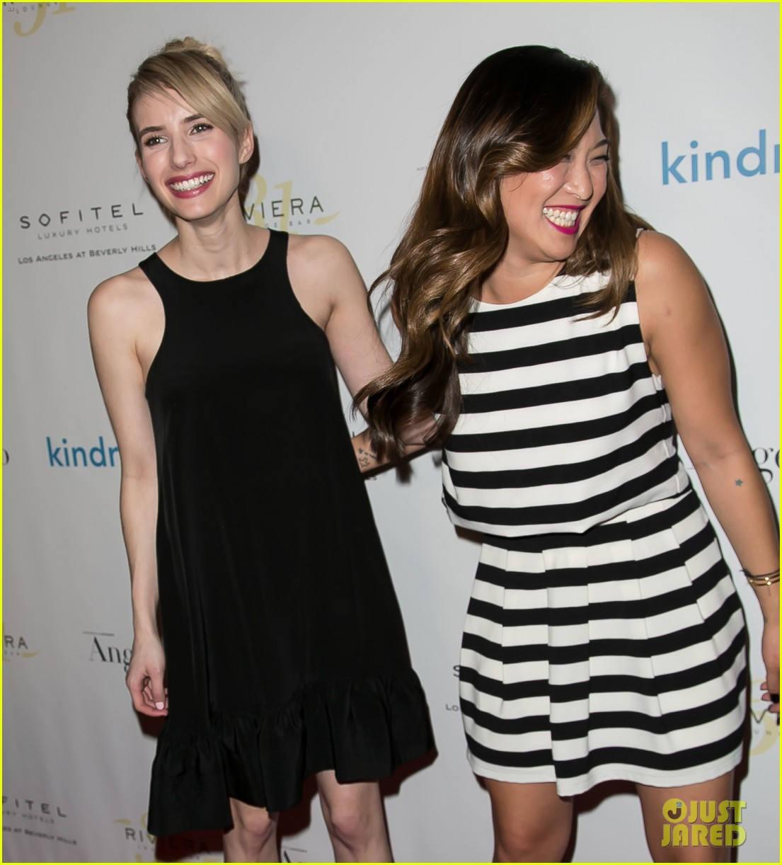 emma roberts jenna ushkowitz sarah hyland make it a special night 07