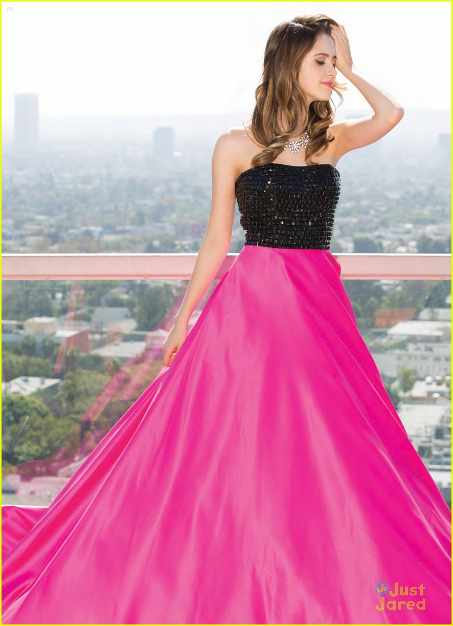Laura Marano Models Dream Prom Looks For \'Justine\' - See The Pics ...