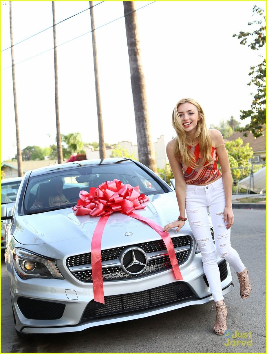 peyton list new car 17th birthday 07