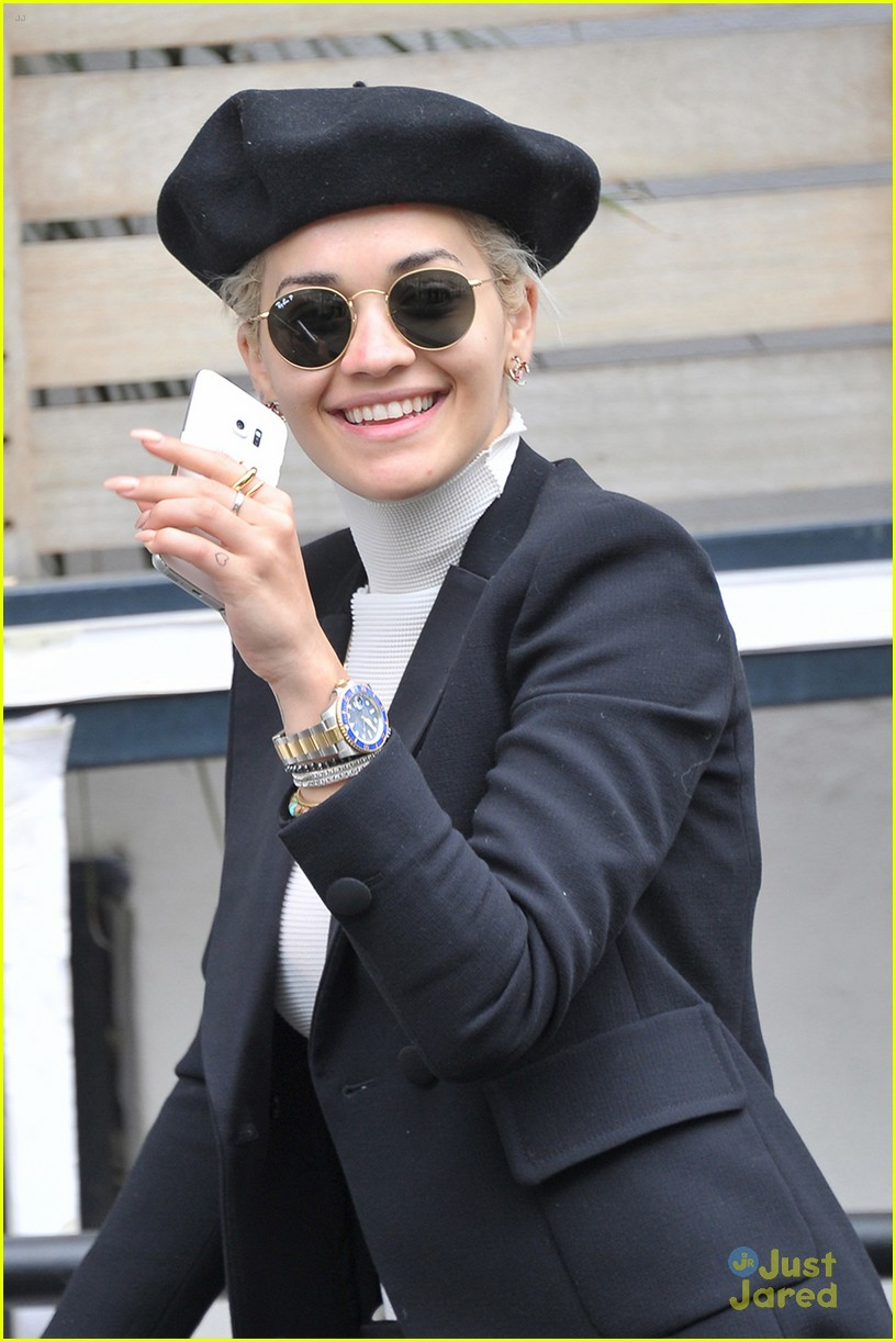 rita ora gma monday itv studios wednesday pics 06