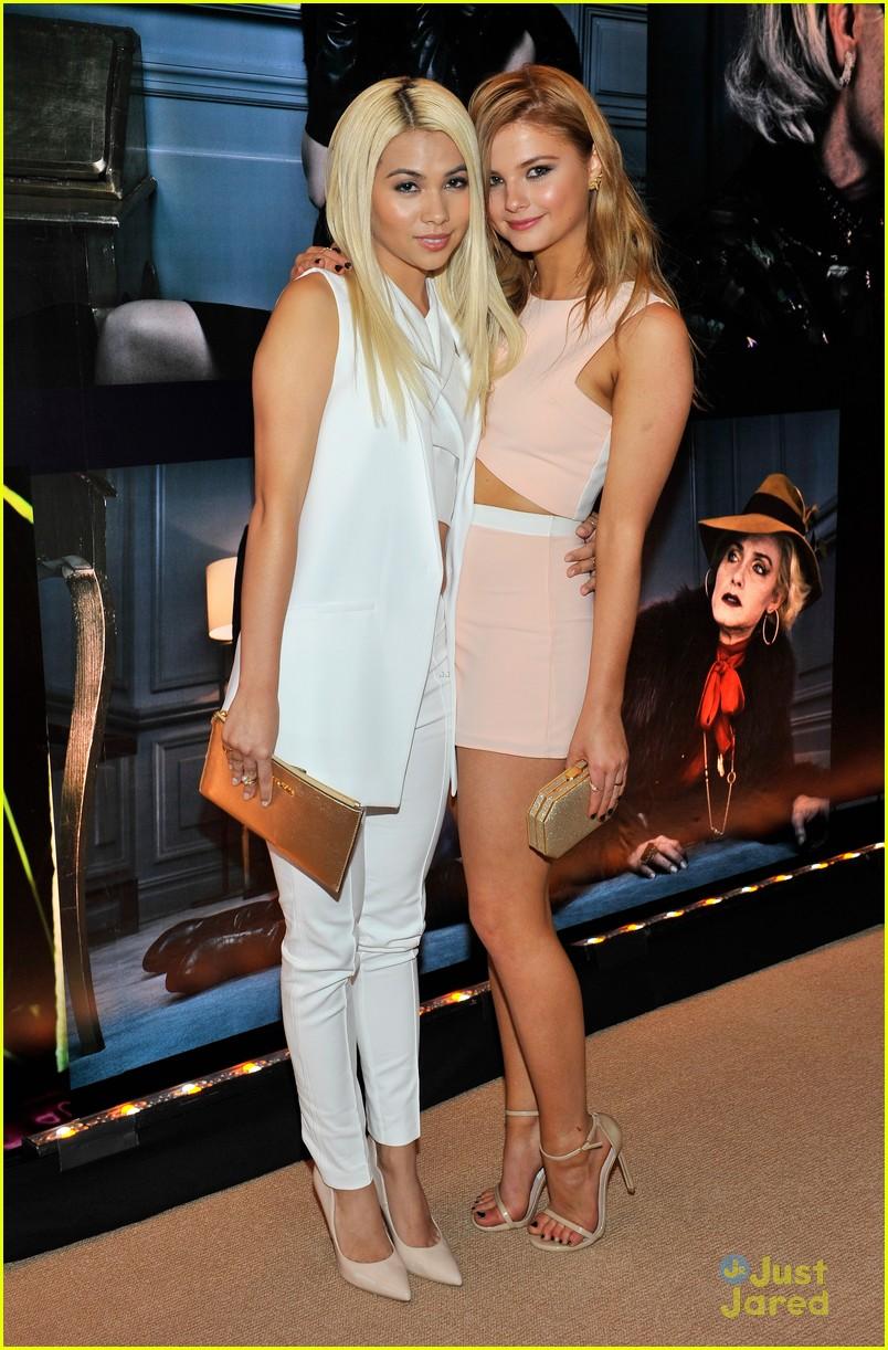 Stefanie Scott & Hayley Kiyoko Hear The 'W Stories ...