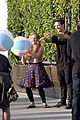 willow shields mark ballas beach balls hula hoops dwts 36