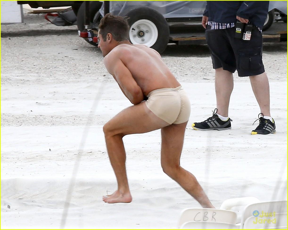 zac efron got his butt violatedhis 'dirty grandpa' today