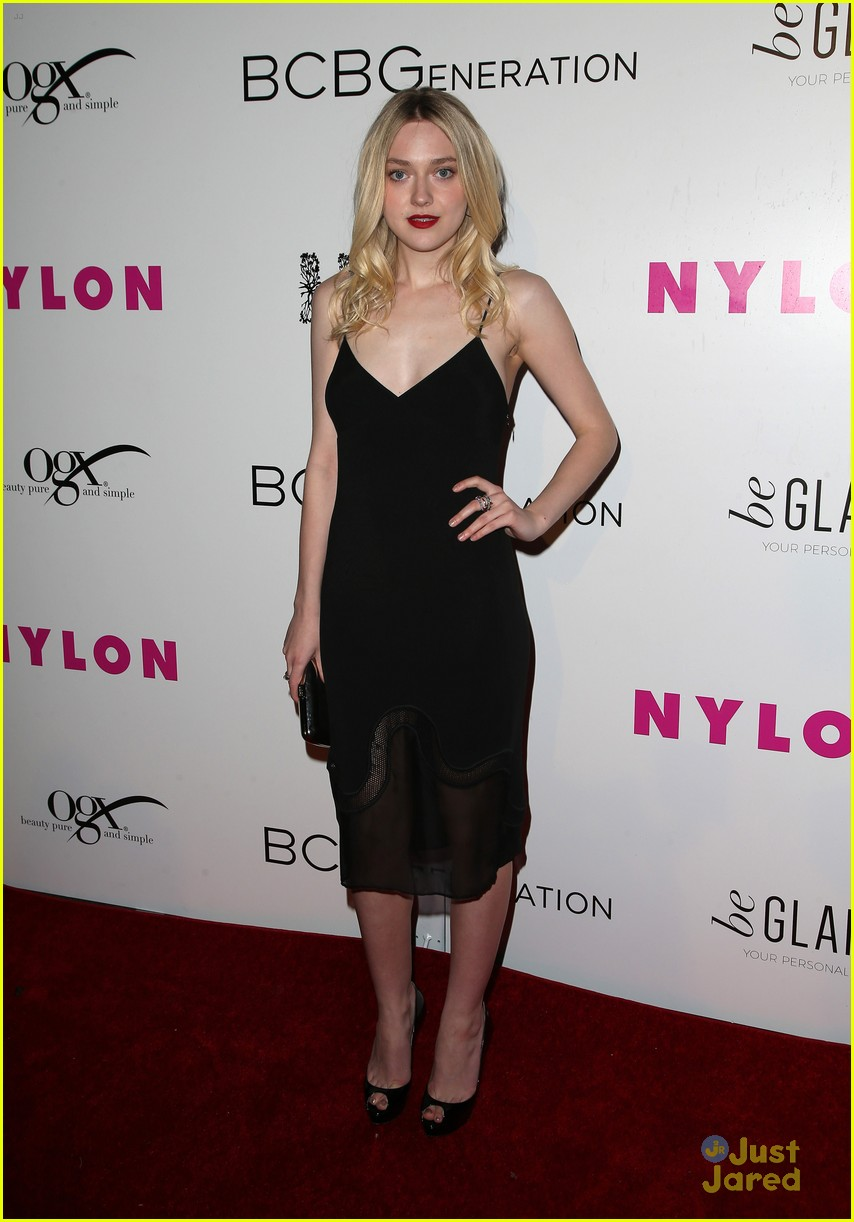 dakota fanning kiernan shipka olivia culpo nylon party 11