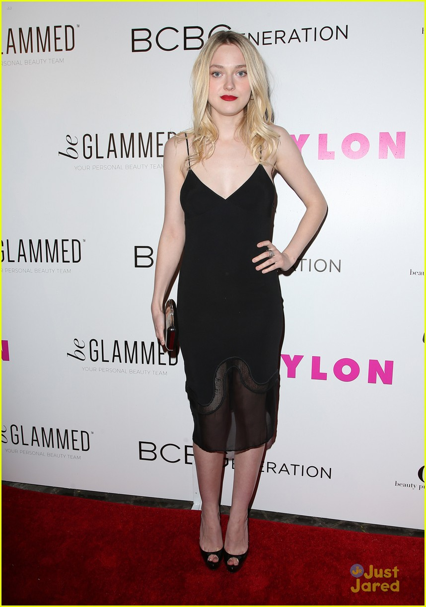 dakota fanning kiernan shipka olivia culpo nylon party 14
